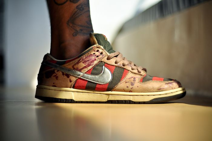 "A Nightmare on Feet: The Nike ""Freddy Krueger"" Dunk SB"