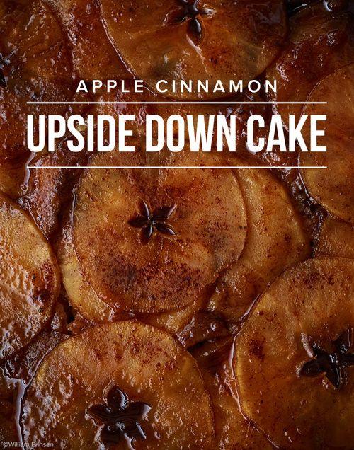 Apple Cinnamon Upside Down Cake | Favorite Recipes | Pinterest