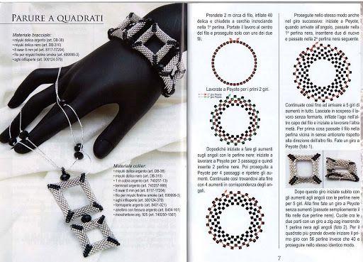 I miei gioielli con perline Miyuki e cristalli Swarovski - Maite Omaechebarria - Webové albumy programu Picasa