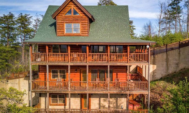 102 best pigeon forge tn cabin rentals images on - 7 bedroom cabins in pigeon forge ...