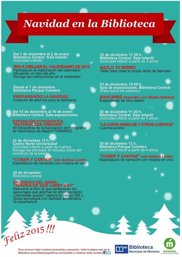 48 best Navidad en la Biblioteca Municipal de Móstoles images on ...