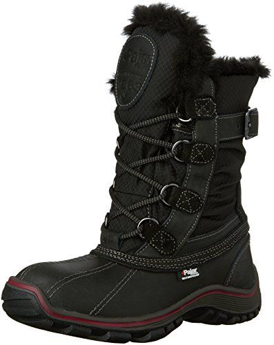 Pajar Womens Adelaide Snow Boot BlackBlack 39 EU885 M US -- This is an Amazon Affiliate link. Want additional info? Click on the image.