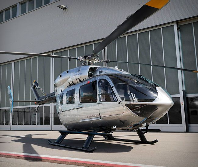Eurocopter EC145 by Mercedes-Benz Style