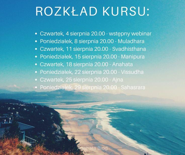 Czakry, kurs online