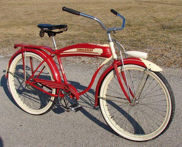 1946 Schwinn Built B F Goodrich Challenger Bicycle Schwinn