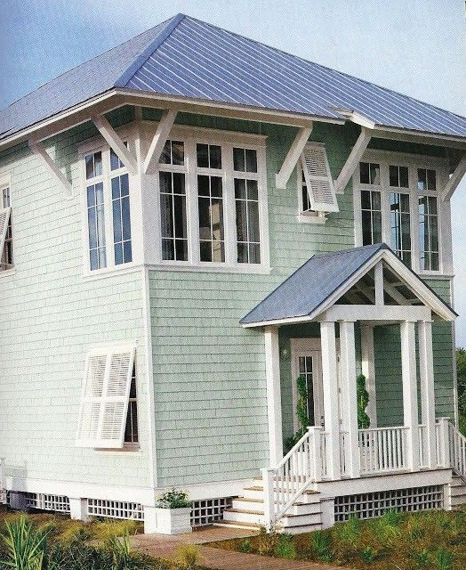 Beach House Colors: 107 Best Beach House Exterior Colors Images On Pinterest