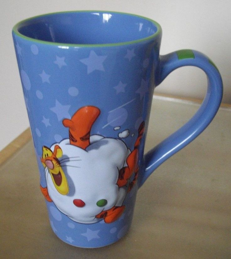"""Disney Store Tigger Latte / Coffee Mug 3D FOR SALE • £5.95 • See Photos! Money Back Guarantee. POPULAR DISNEY STORE TIGGER 3D COFFEE / LATTE MUG IN CLEAN UNDAMAGED CONDITION. STANDS APPROX 6"""" HIGH. UK ONLY PLEASE PAYPAL ONLY 352044105945"""