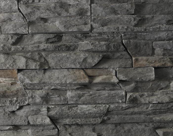 Stacked Stone Backsplash