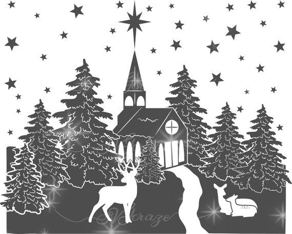 44+ Glass Block Christmas Designs – Svg/Dxf/Eps/Png Image