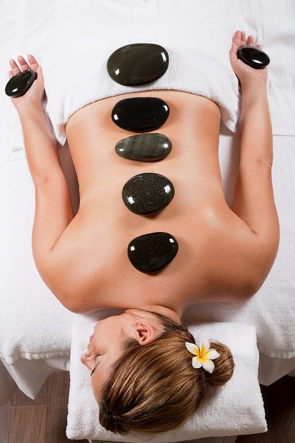 Have you tried a hot stone massage yet? Try incorporating hot stones into your next massage and see the difference! #massage #relax #spa