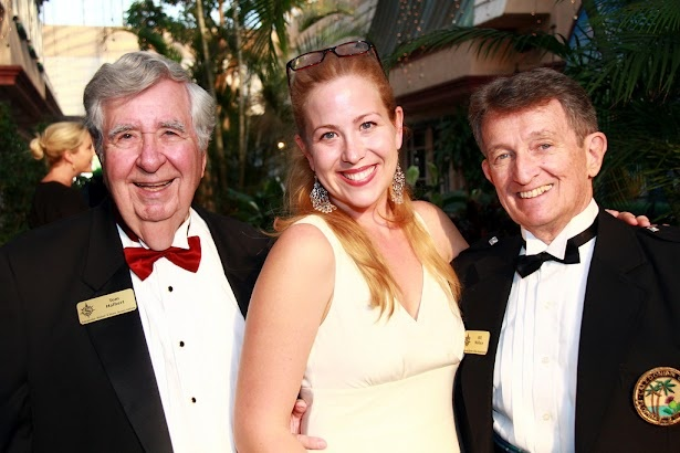 Tom Halbert, Jan Thompson and Bill Wallace