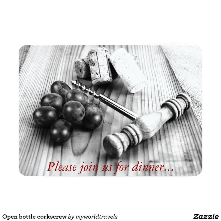 73 best zazzle party invitation collection images on pinterest open bottle corkscrew card stopboris Choice Image