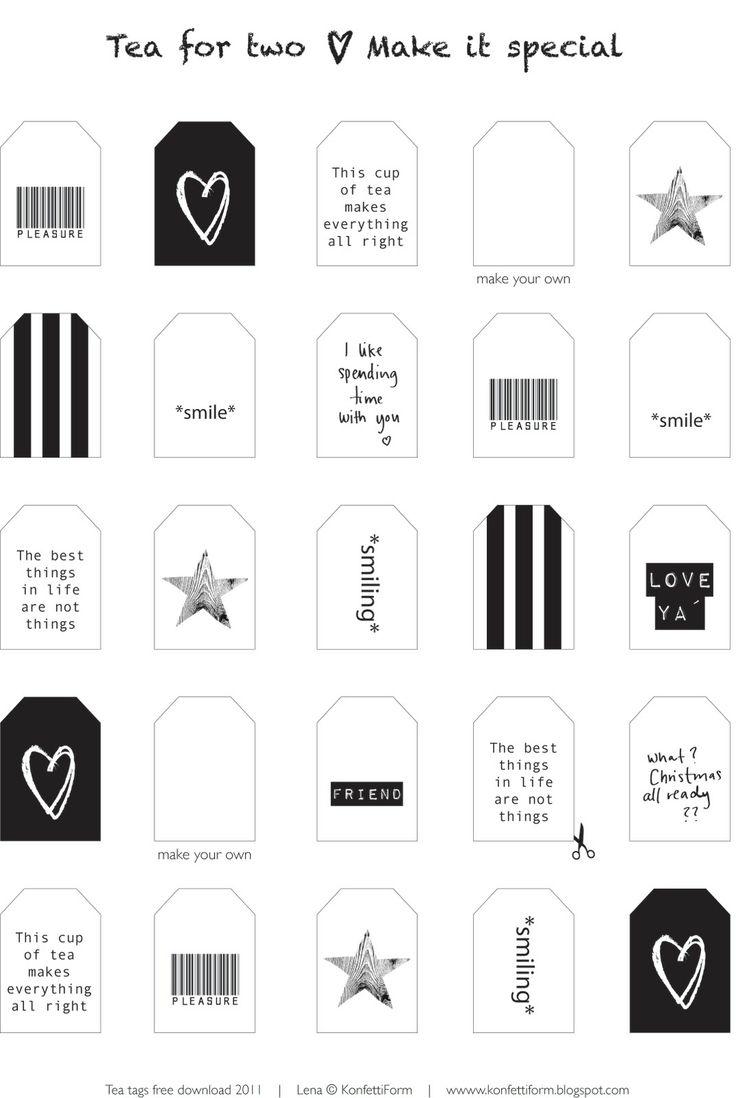 Thee Labels printen