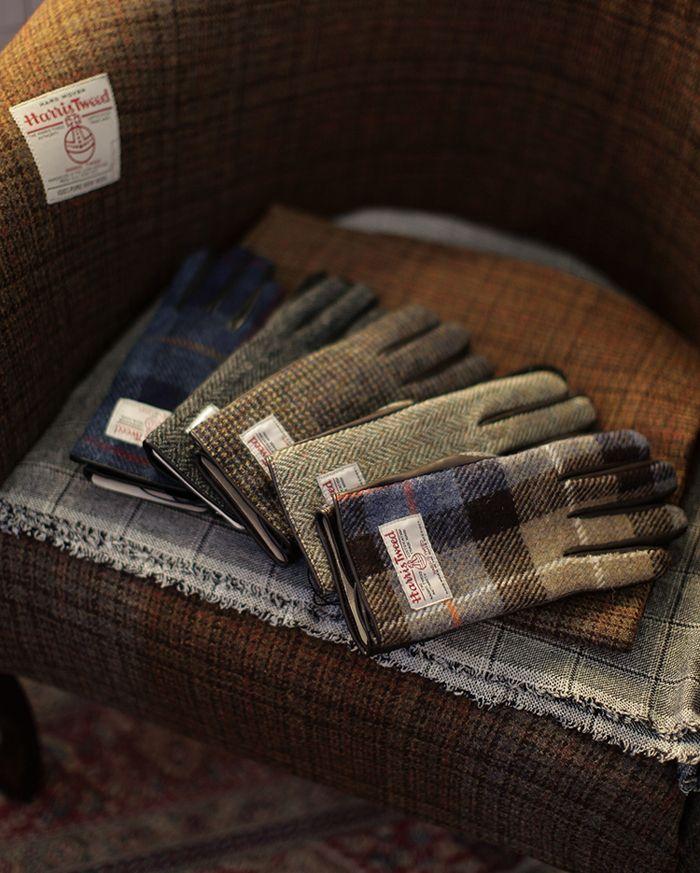 bntailor: Harris Tweed Gloves At B&Tailorshop - MenStyle1- Men's Style Blog