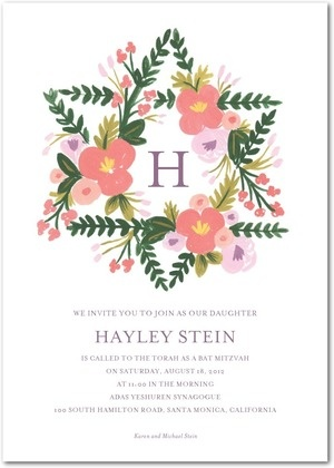 Can I have my bat mitzvah again?? Rifle paper co can seriously do no wrong. maybe for H's sign in board. maybe brighter/bolder colors for flowers/rainbow