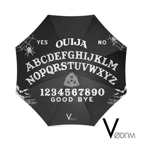OUIJA UMBRELLA Goth Magic Witchcraft Witch Rain Wicca Pagan