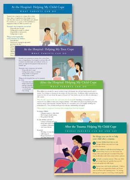 Our downloadable patient education handouts and workbooks were created to help children, teens, parents and siblings cope with injury and/or illness. These patient education handouts are appropriate for use in hospital, rehab, and primary care settings. All patient education handouts are also available in Spanish.