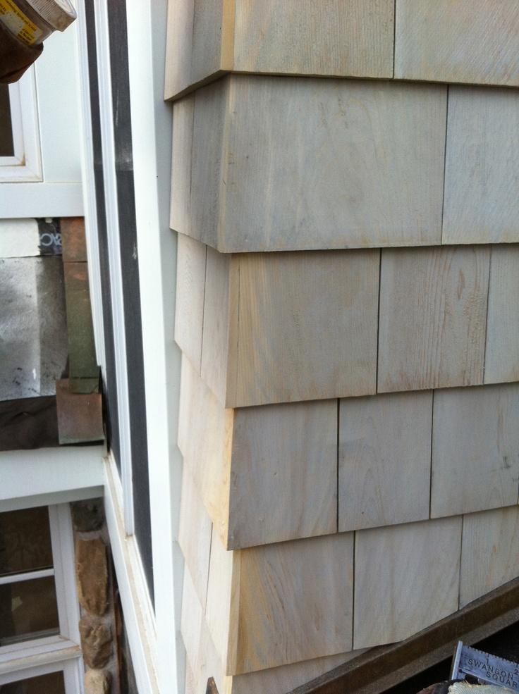 Best Cedar Shake Siding Corner Detail Cedar Walls Exterior 400 x 300