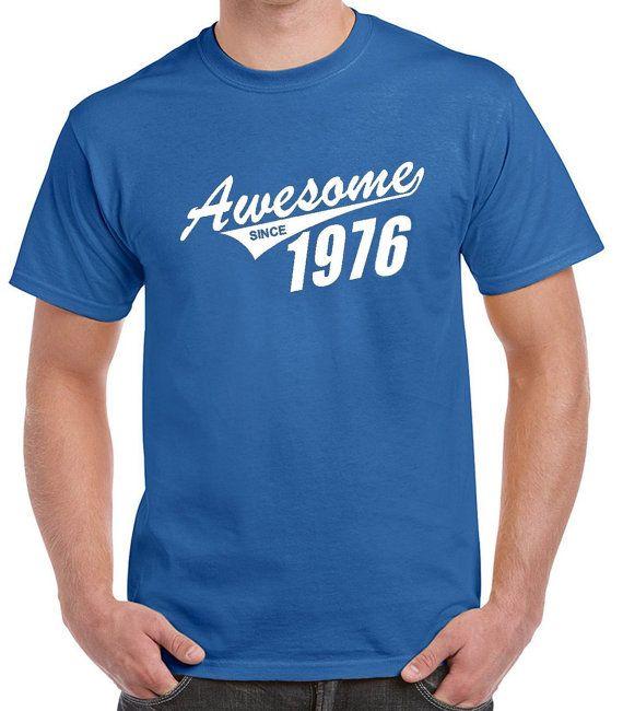T Shirt 40ème cadeau d'anniversaire pour homme par DesignDepot123