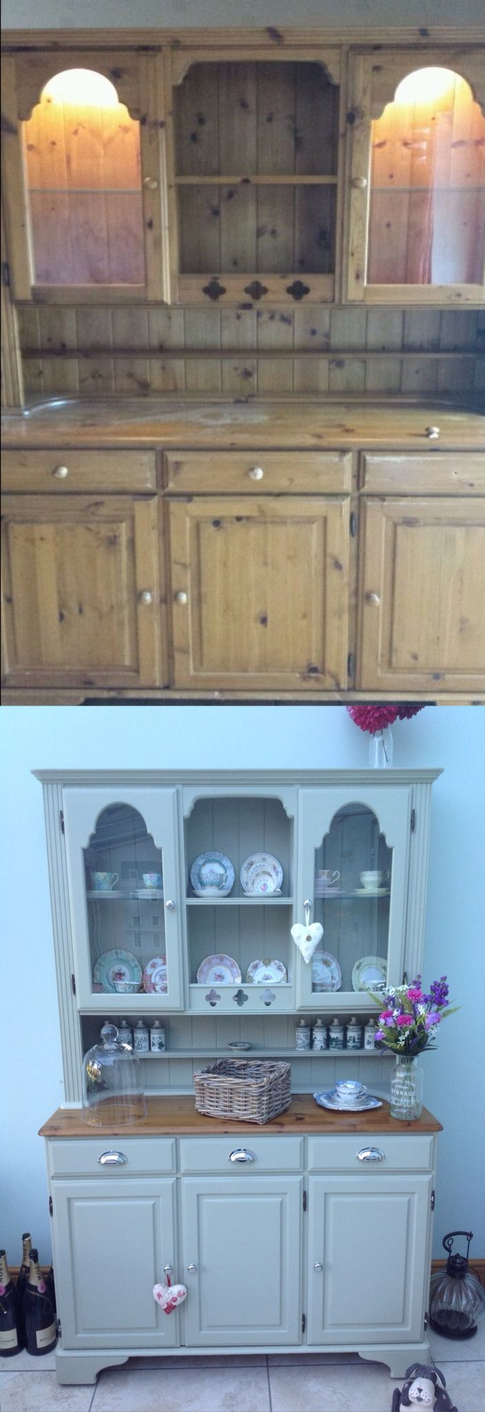 welsh dresser makeover - Kitchen Dresser