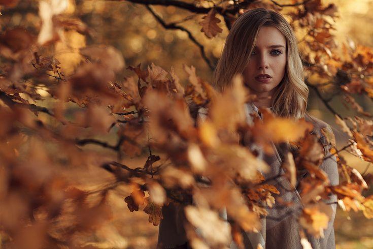 Herbstshooting mit Anna - Neue Festbrennweite getestet