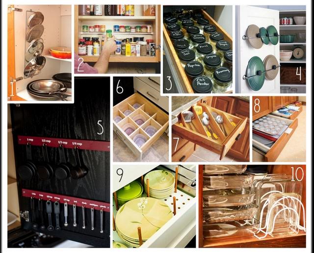 Practical Kitchen Organization Ideas