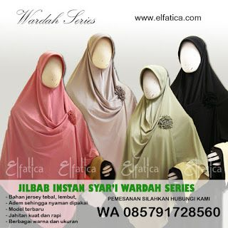 Jilbab Instan Syar'i 2016