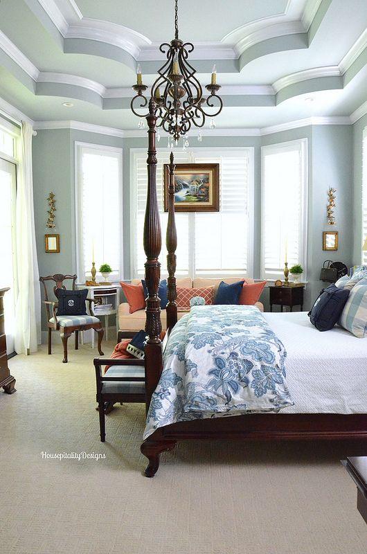 Master bedroom housepitality designs bedroom ideas for French master bedroom ideas