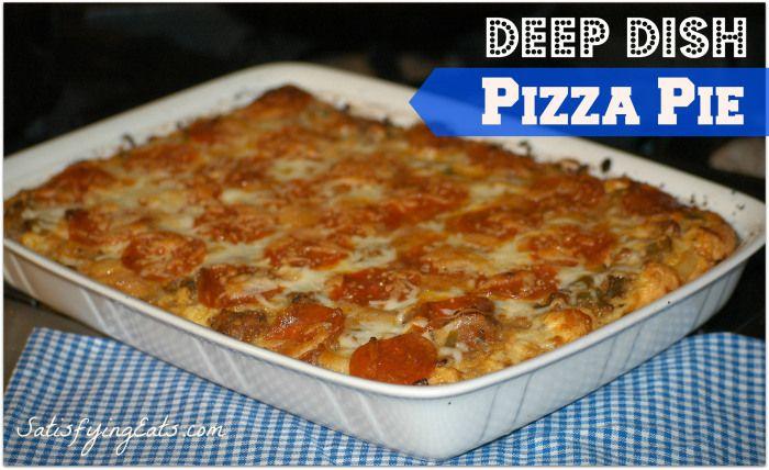 Primal Easy Deep-Dish Pizza Pie