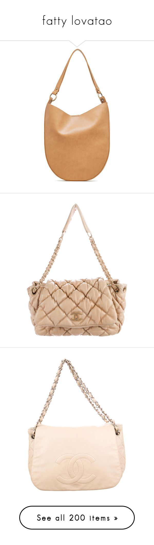 """""""fatty lovatao"""" by brianashaunaerojas ❤ liked on Polyvore featuring bags, handbags, shoulder bags, camel, hobo handbags, hobo shoulder handbags, camel purse, sling purse, beige shoulder bag and neutrals"""