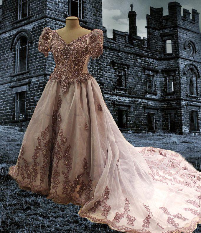 STEAMPUNK WEDDING GOWNS Steampunk Victorian Bustle