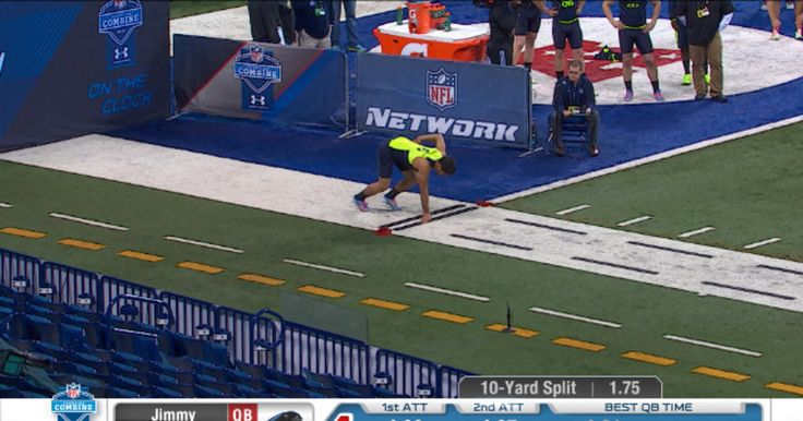 Watch Eastern Illinois QB Jimmy Garoppolo work out at the 2014 NFL Scouting Combine.
