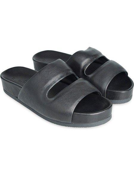 Carmen flade læder sandaler