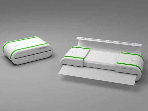 Printer & Scanner that Prints in Braille