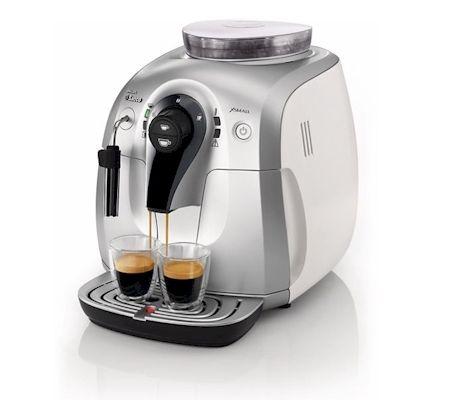 Saeco HD8745 Lille Espressomaskine, fuldautomatisk