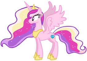 Princess Cadence older - hmmm..maaaybe, just maybe