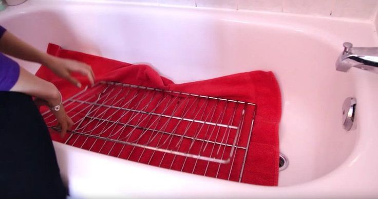 How To Clean Dirty Oven Racks The Easiest Way With Minimal Effort Required.
