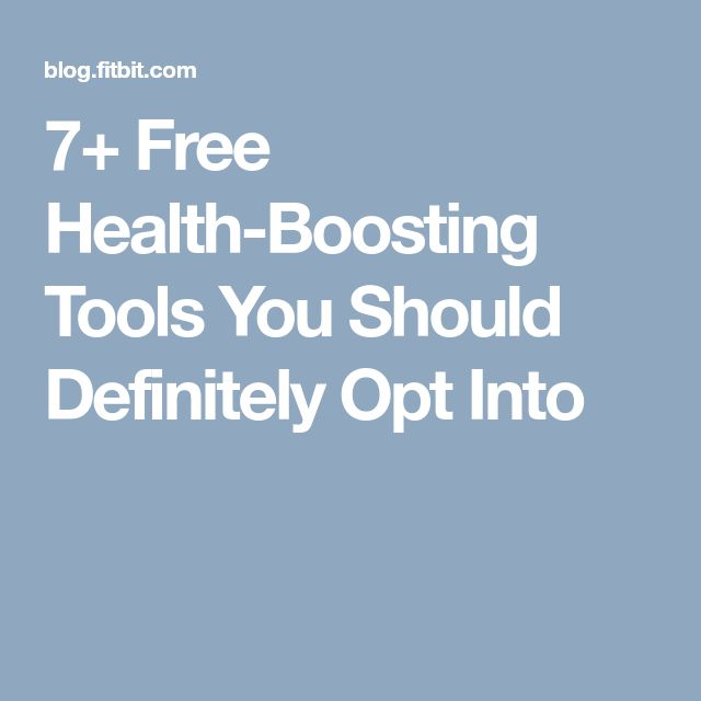 7+ Free Health-Boosting Tools You Should Definitely Opt Into