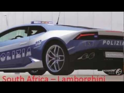 Top 10 Best Police Cars In The World 2016