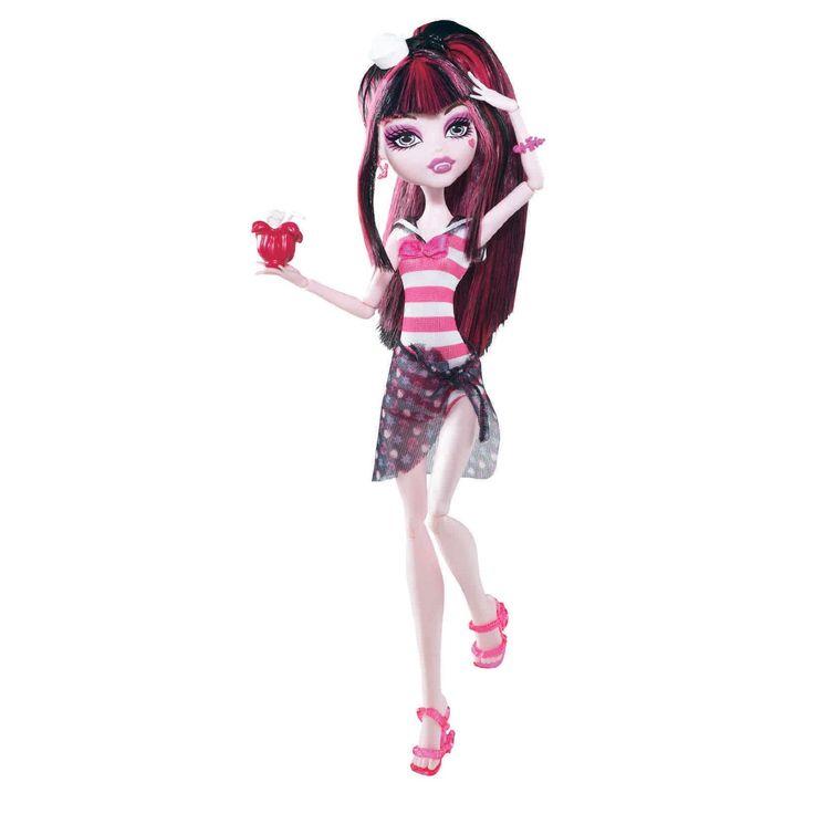 Pinterest: Draculaura Skull Shores Mattel Monster High doll. http://www.monsterhighcollector.com/viewstory.php?sid=15