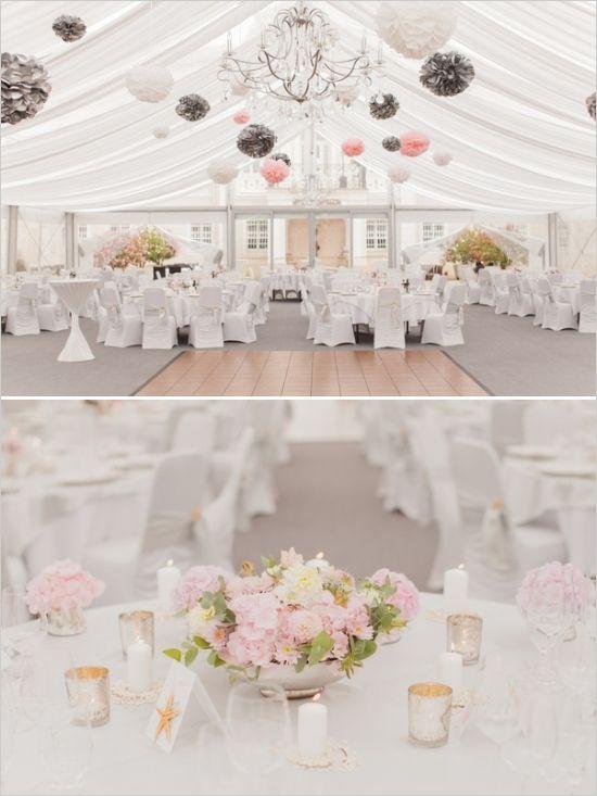 glamorous tent wedding ideas