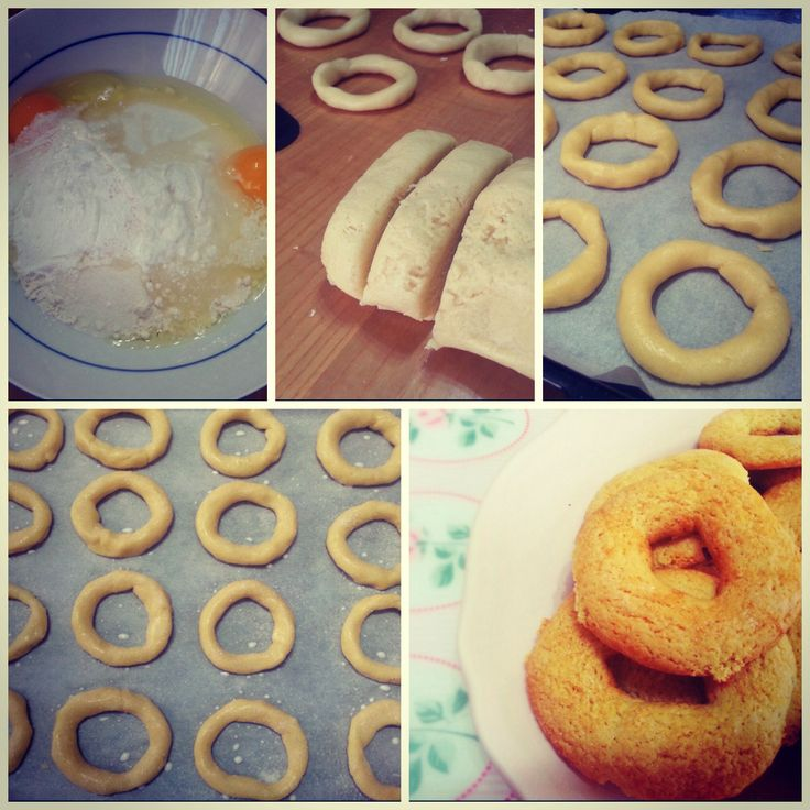 Works in progress...Taralli dolci!! http://www.lovecooking.it/dolci/taralli-dolci/