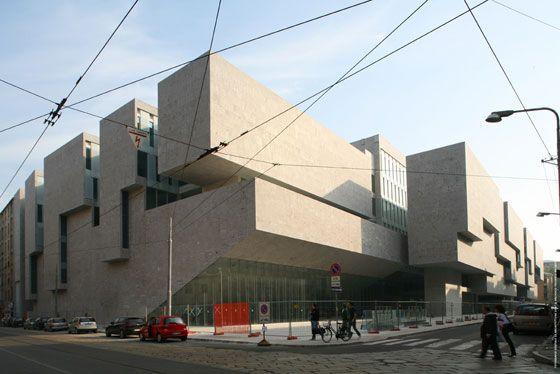 Universita Luigi Bocconi by Grafton Architects, photo by Federico Brunetti