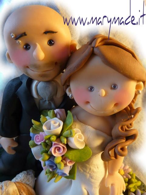 http://www.marymade.it/wp-content/uploads/2013/03/marinalazzclosereduced.jpg Un Primo Piano, in Primo Piano - http://www.marymade.it/cake-toppers-italia/un-primo-piano-in-primo-piano/, Buon giorno a tutti i miei lettori! Mi affaccio brevemente per pubblicare un primo piano di un recente coppia di sposini per la torta nuziale. Sono due futuri sposini con i piercings