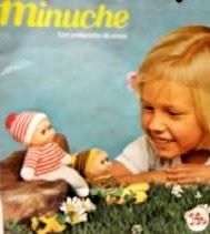 So apparently a Minuche is some kind of doll.  Ana Caldatto: Collection Doll Minuche Decade 80