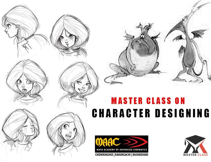 Free Master Class on Character Designing