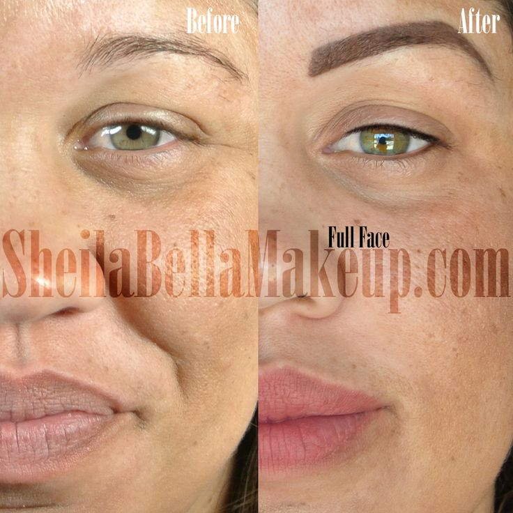 Beautifully natural permanent makeup by sheila bella for Eyebrow tattoo aftercare instructions
