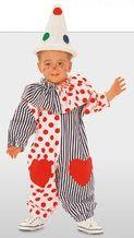 Kinderkostüm - Clown - Schnittmuster