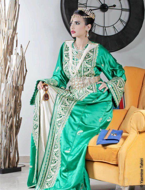 Haute Couture Traditionnelle Marocaine