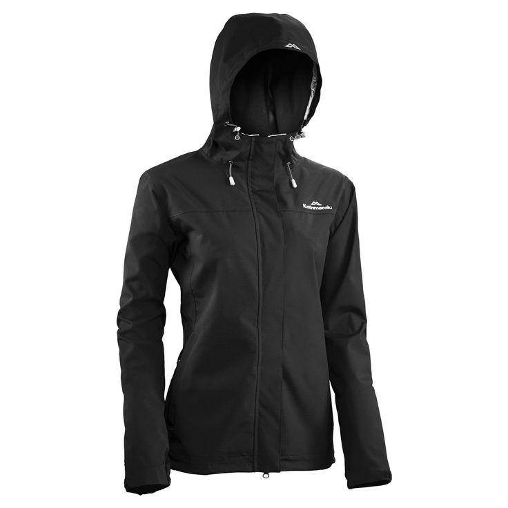 Buy Monrovia Women's 2.5 Layer Waterproof Jacket v2 - Black online at Kathmandu
